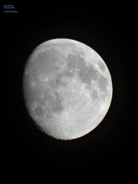 waxing moon 28june2015 (c) Mani Navasothy