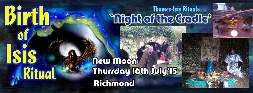 Birthday of Goddess Isis - July 2015 ritual in London