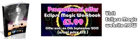 Special Offer- Eclipse Magic Workbook - £3.99