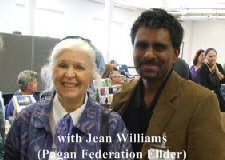 Jean Williams with Mani Navasothy at PF London Conference (c) Mani