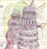 DW- 3rd Doctor and Dalek