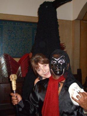 Ferryman at Halloween fest09