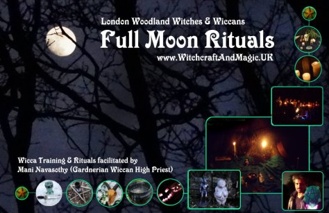 Full moon- Woodland Witches London March 2016