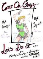 KCL Aerobics poster2