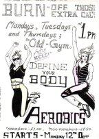 KCL Aerobics poster3