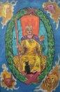 Tarot blend - World & queen of wands (c) Mani Navasothy