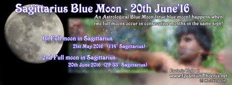 Sagittarius blue moon 2016