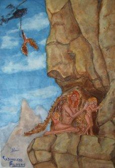 Wingless Flyers (c) Mani Navasothy