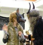wolf & shaman masks - art of mani