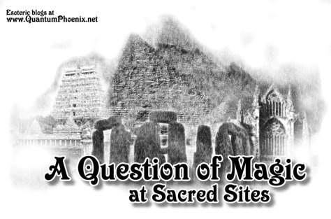 A question of magic at sacred sites - Mani Navasothy 2016