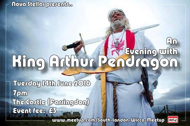 Evening with King arthur Pendragon at Nova Stellar meetup