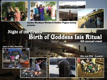cover Night of the Cradle Birth of Goddess Isis 19july16