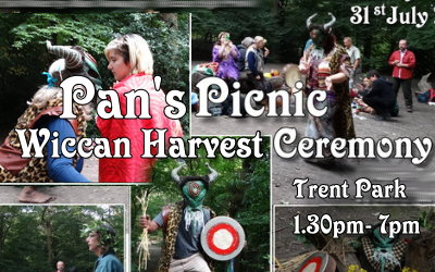 Pan's Picnic 2016 & Wicca Lammas Harvest Ceremony in Trent Park, London – 31July2016