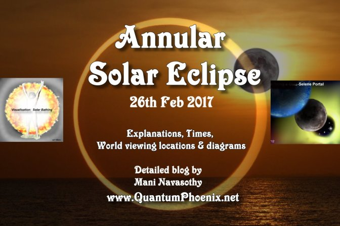 Annular Solar Eclipse- full details – Sunday 26th February 2017 (and deciphering scientific diagram)
