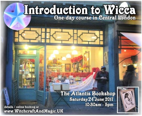 Intro to wicca - day course - Atlantis Bookshop 17June2017 by Mani Navasothy