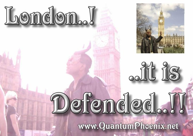 London is Defended!   (my reaction to terror attack on Parliament, London 22March 2017)