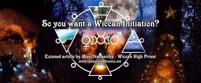 Wicca Initiations