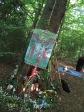 Woodland Beltane 2017 - altar