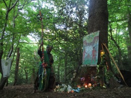 Woodland Beltane 2017- Horned God