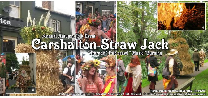 Folk event: Carshalton Straw Jack (2nd Sept'17)