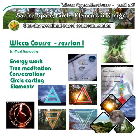 Wicca Course outdoors London- Autumn 2017 - part 1 of 3 by Mani Navasothy