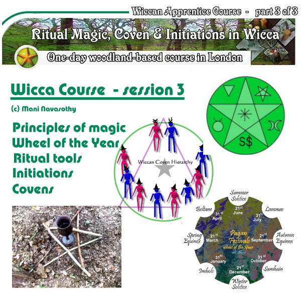 Wicca Course outdoors London- Autumn 2017 - part 3 of 3 by Mani Navasothy