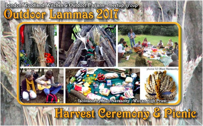 Attend out woodland Lammas / Harvest Ceremony in London (6th Aug'17)
