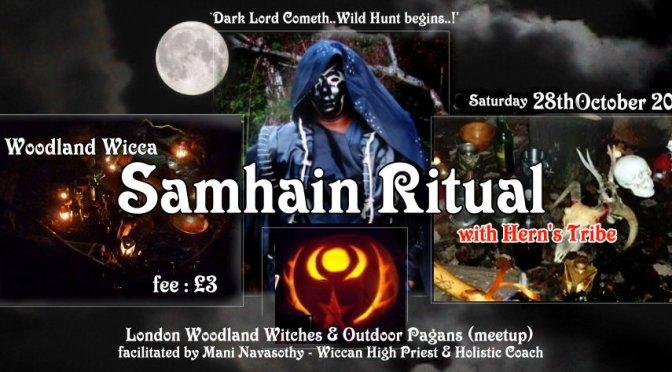 Woodland Wicca Samhain 2017 –  Seasonal Ritual & Halloween Gathering (28Oct17)