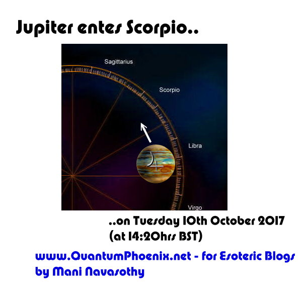 Astrology part 2:  Jupiter enters Scorpio!