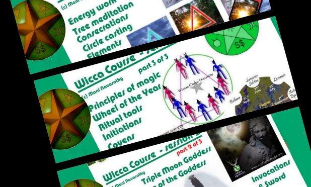 Wicca course in 3 parts (woodland)   QuantumPhoenix net