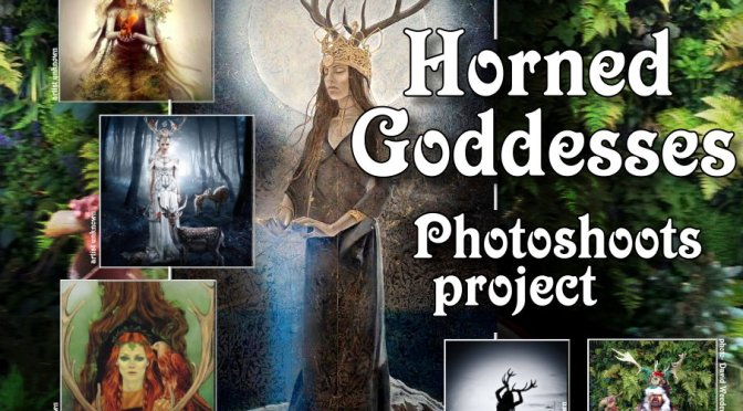 The Horned Goddess – photoshoot project (2017-2018)