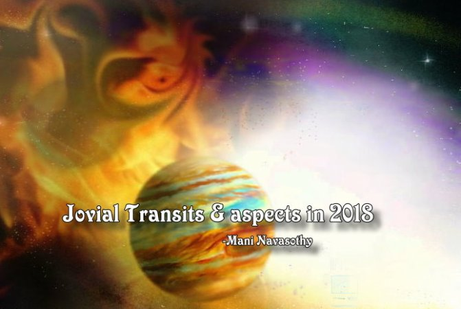Astrology: Jovial Transits in 2018 (part1)