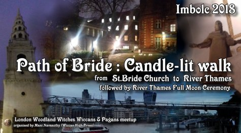 St Bride candle blessing