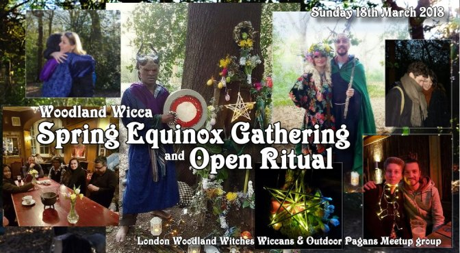Woodland Spring Equinox Gathering & Open ritual 2018