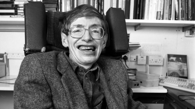 Why did the undergrad cross the road? A Stephen Hawking tribute!