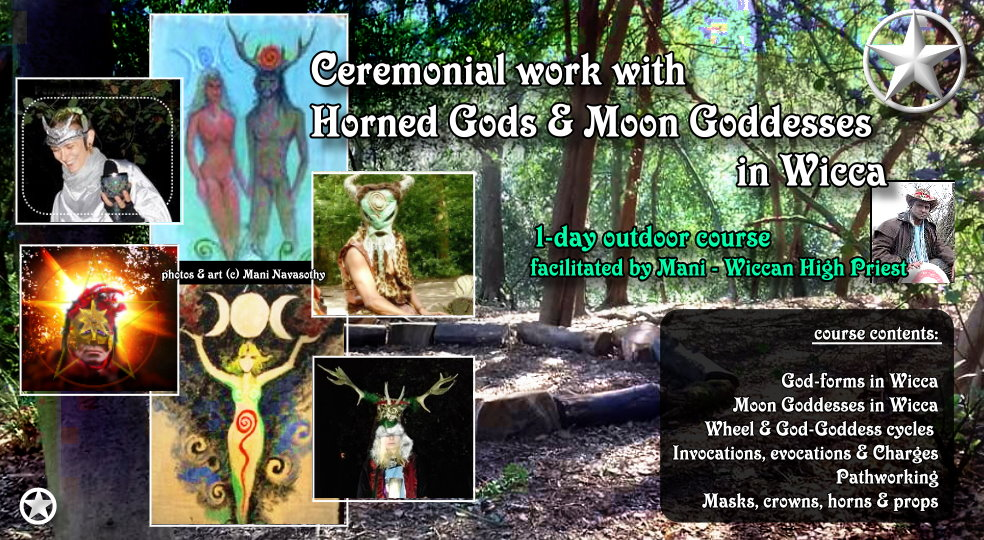Horned Gods, Moon Goddess, wicca, empowerment, ritual magic, invocations