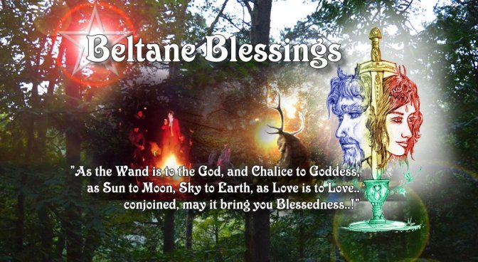 Beltane Blessings to all! (art works)