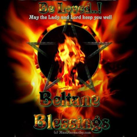 Beltane Blessings - Mani