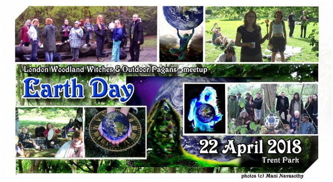 Earth Day 2018 – woodland walk, family picnic & eco ceremony