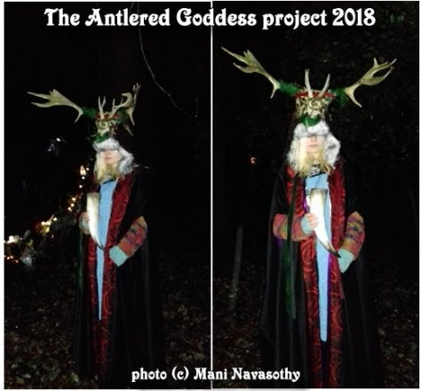 Antlered Goddess poject sophie