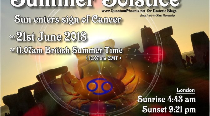 Summer Solstice 2018 – time