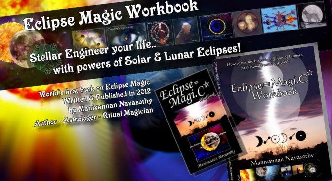 Eclipse Magic Workbook – e.Book- for £9.99 and prepare for 3 Eclipses!