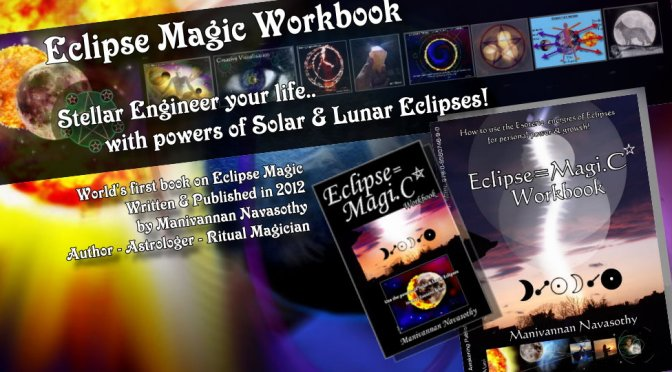 Eclipse Magic Workbook – e.Book- for £9.99 and prepare for 3 Eclipses!