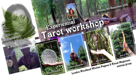 Tarot workshop by vathani & Mani 9sept2018-9sept18