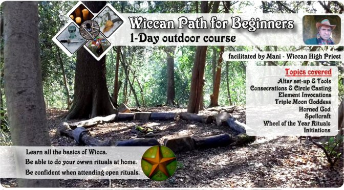 Wiccan Path for Beginners: 1-day course (Outdoors/London/Autumn 2018).