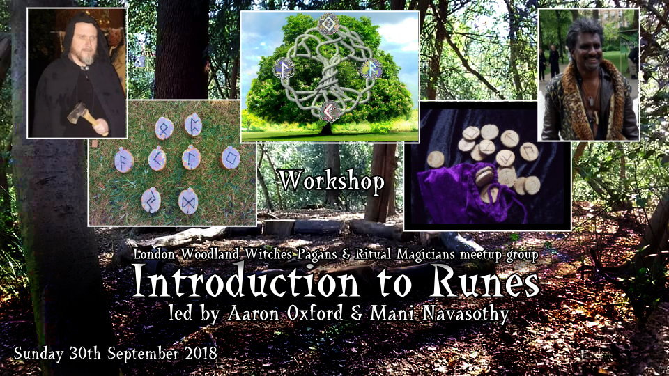 Intro to Runes by Aaron & Mani 30sept2018