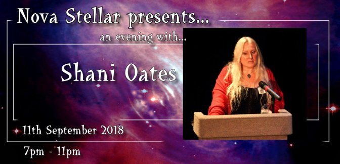 Meeting Shani Oates : Matriarch of Cochrane Witchcraft Tradition (Nova Stellar Talks, London)