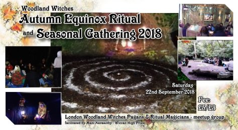 Woodland witches Autumn eqx 2018