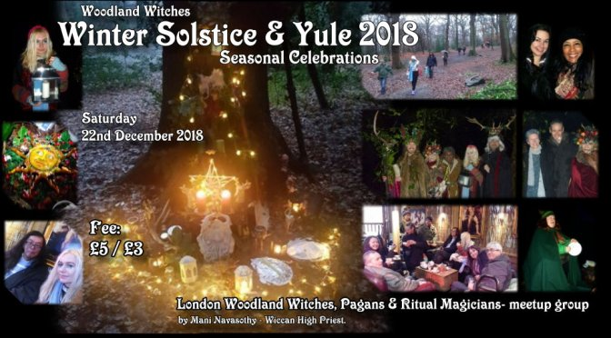 Autumn/ Samhain/ Winter 2018 Seasonal rituals coming up
