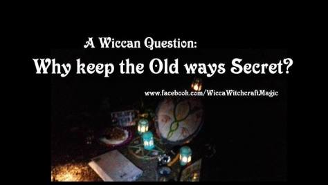 keep wicca secrets
